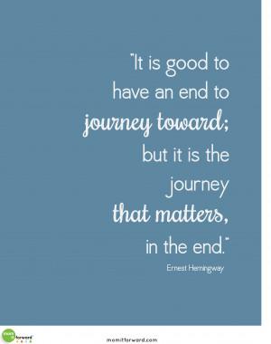 Printable: Ernest Hemingway Quote