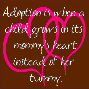 have heard some really great adoption stories lately, and it such a ...