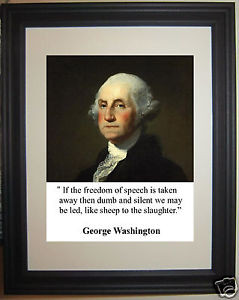 President-George-Washington-freedom-Quote-Framed-Photo-Picture