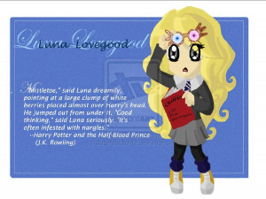 Luna Lovegood by TotoRee12