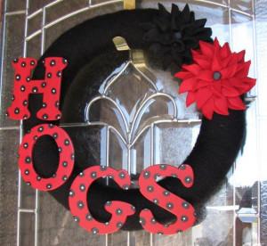... arkansas razorback wreath ref sr gallery 33 ga search query arkansas