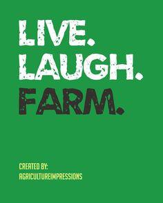 ... Farm. 'Nuff Said. Credit: AgricultureImpressions #agriculture #quotes