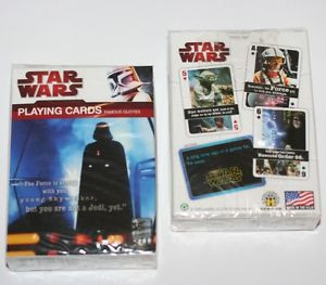 STAR-WARS-Sci-Fi-Movie-Lucas-Films-FAMOUS-QUOTES-Single-Deck-PLAYING ...