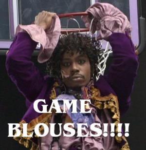 Basketball game: Blouses vs the Shirts