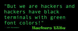 Hacking Quotes   Hackers Elite