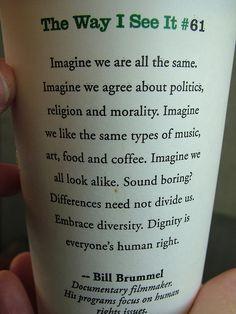 Diversity on Starbucks More