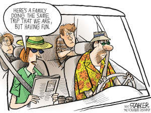 Пора в отпуск: *А здесь семья точно так ...