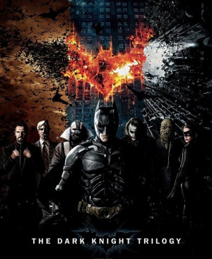 17 Original Batman Dark Knight Trilogy Posters