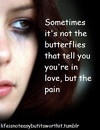 Butterfly Sad Quotes Love...
