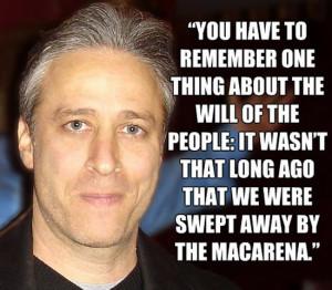 John Stewart on the Macarena