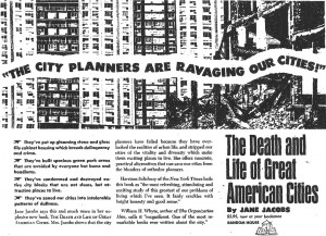 Jane Jacobs Death and Life of Great American Cities