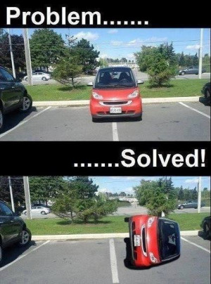 ... : Funny Pictures // Tags: Funny car parking picture // May, 2013