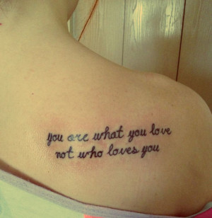 Domestic Violence Tattoo Quotes Thinking of getting a tattoo