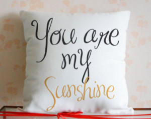 Personalized Quote Pillow Cover,Custom any quote cushion cover,You Are ...
