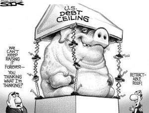 Debt Ceiling cartoon