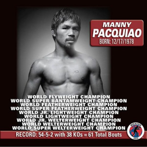 Boxing Manny Pacquiao Quote