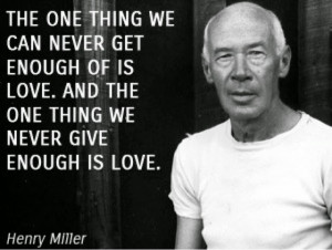 Henry Miller (1891 -1980) is renowned for breaking with existing ...