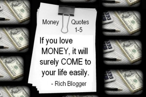 Popular Money Quotes and Sayings