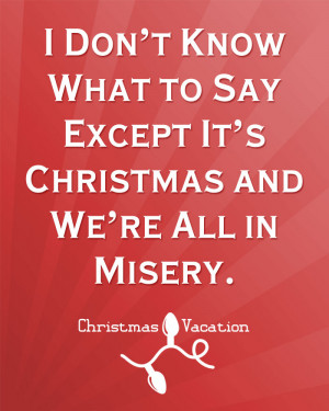christmas printable from christmas vacation movie quote
