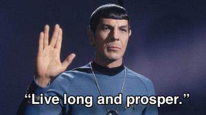 12 inspirational Spock quotes to live your life by
