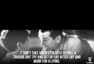 So true! Words from A Bronx Tale