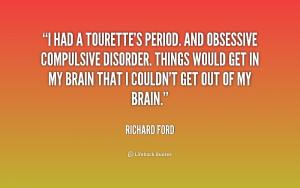 Obsessive Compulsive Disorder Quotes