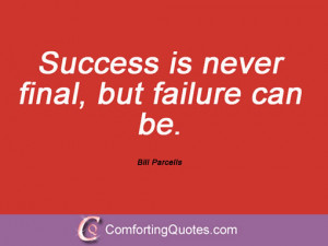 Quotations By Bill Parcells