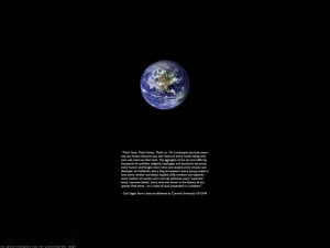 quotes Earth Carl Sagan wallpaper background