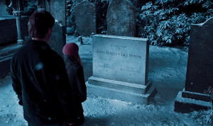James and Lily Potter's grave