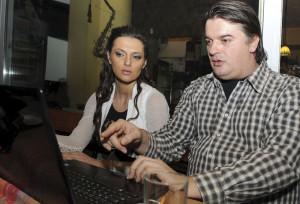 Branka Knežević i Goran Marković