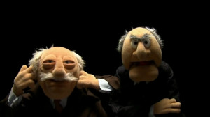 Statler and Waldorf are almost always seen together, but they have ...