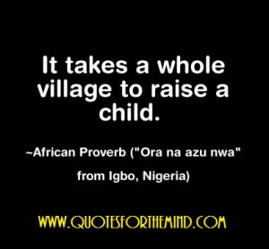 West African Proverbs and Sayings