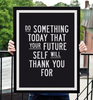 Motivational Inspirational Print Quote Art Wall Decor