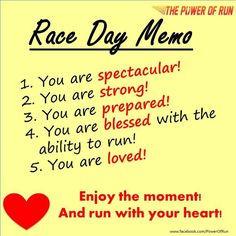 ... memo 12 marathons menu motivation racing day 1 2 marathons race day