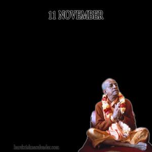 Srila Prabhupada's Quotes for November 11