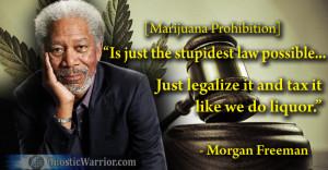Morgan Freeman on Marijuana Prohibition | GnosticWarrior.