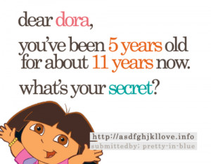 Dora funny quotes the explorer
