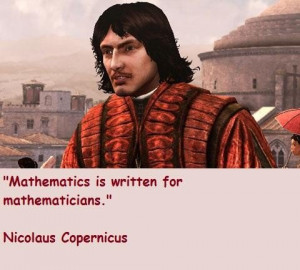 Showing Gallery For Copernicus Quotes