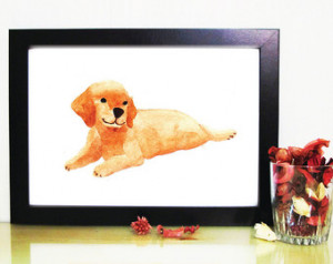 ... Dog Portrait/animal dog-lover/gift/home décor/poster/wall art/nursery