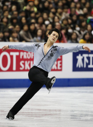 Patrick Chan Patrick Chan of Canadapete in the men 39 s free program