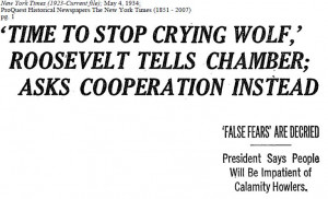 Stop Crying Wolf Quotes