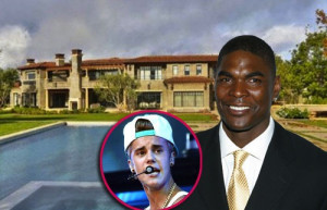 Former NFL star Keyshawn Johnson reportedly has put his Calabasas home ...