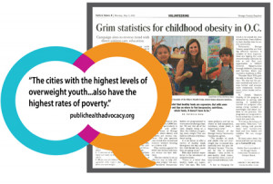 The cities with the highest levels of overweight youth are Anaheim (43 ...