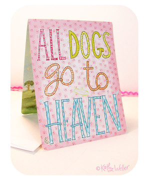 Quotes About Dogs Going Heaven