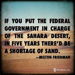 ... Milton Friedman: Milton Friedman, Federer Government, Libertarian