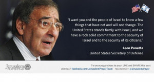 Famous Quotes About Israel : Leon Panetta : Mike Evans : Jerusalem ...
