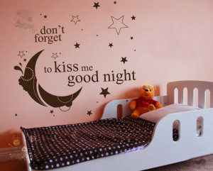 Romantic Good Night with Bed