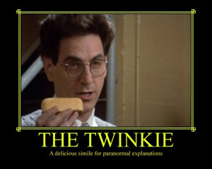 Egon Ghostbusters Twinkie The twinkie by selenalunarox