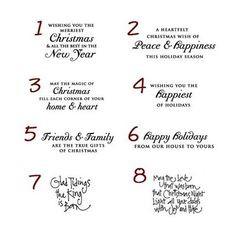 Back > Humor For > Funny Christmas Card Sayings For Family