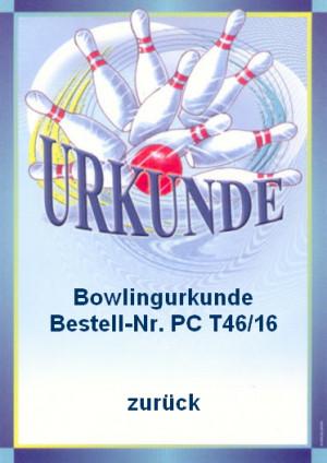 Urkunde Bowling picture